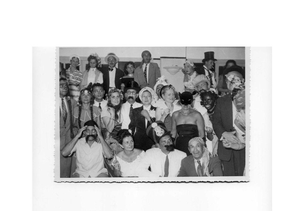 Fête travestie Dans le restaurant d El-Kettani Année 1951