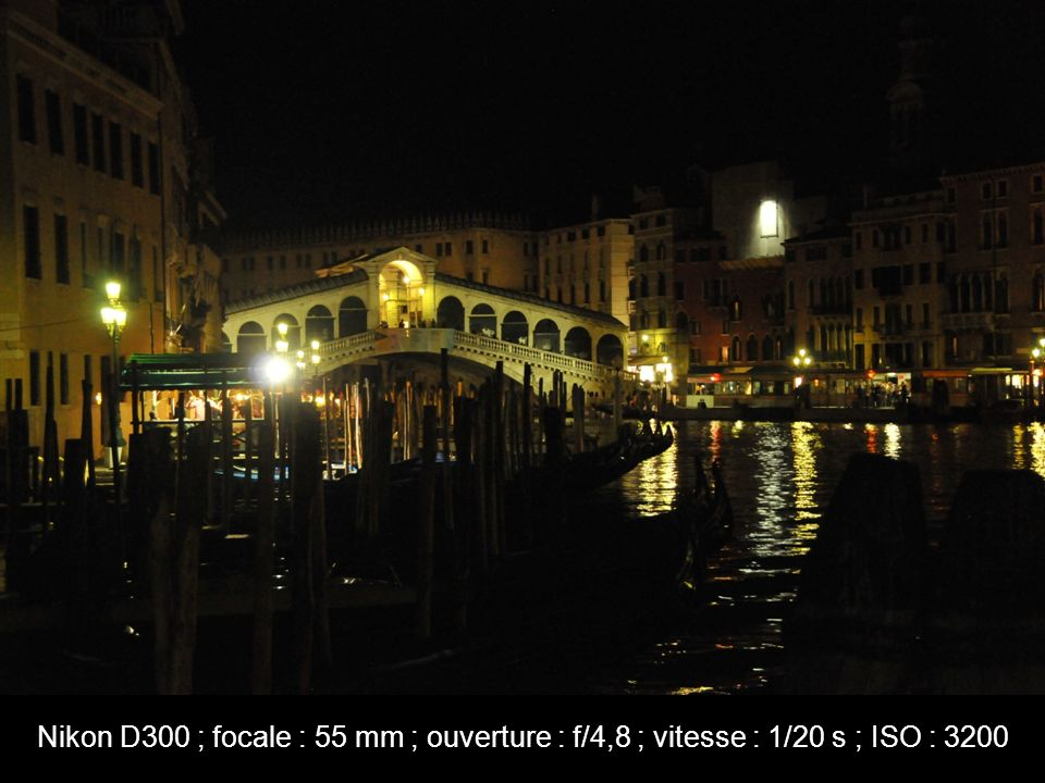 Nikon D300 ; focale : 55 mm ; ouverture : f/4,8 ; vitesse : 1/20 s ; ISO : 3200