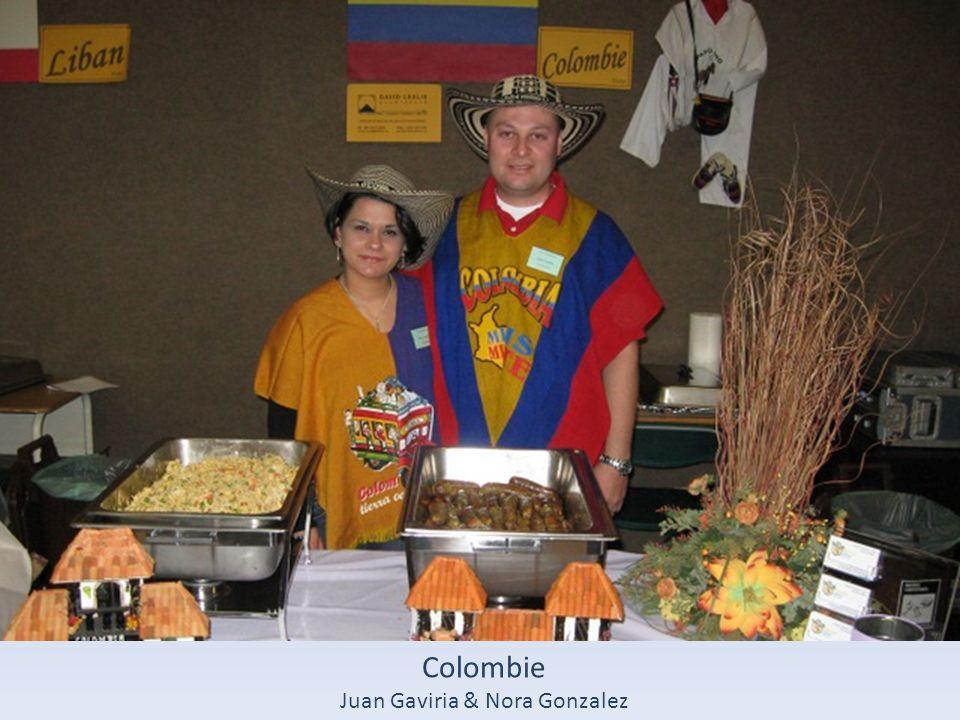 Colombie Juan Gaviria & Nora Gonzalez
