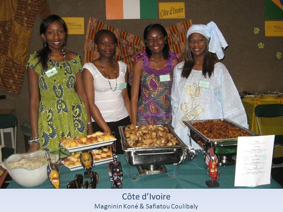 Côte dIvoire Magninin Koné & Safiatou Coulibaly