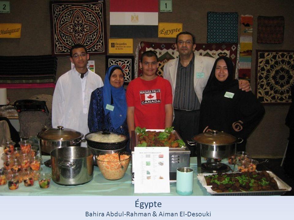 Égypte Bahira Abdul-Rahman & Aiman El-Desouki