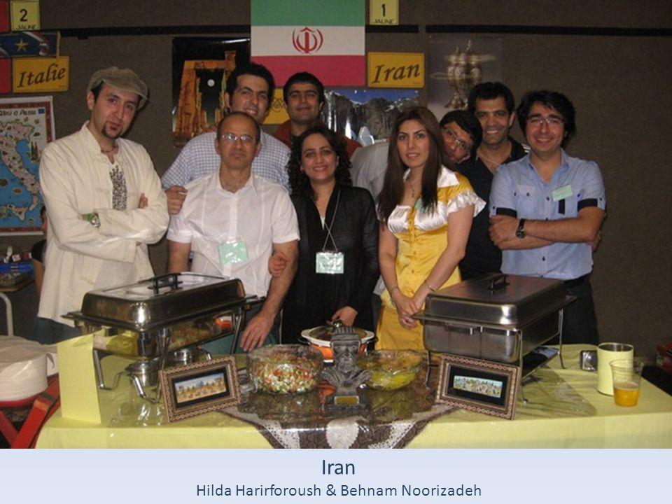 Iran Hilda Harirforoush & Behnam Noorizadeh