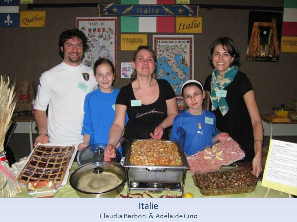 Italie Claudia Barboni & Adélaide Cino