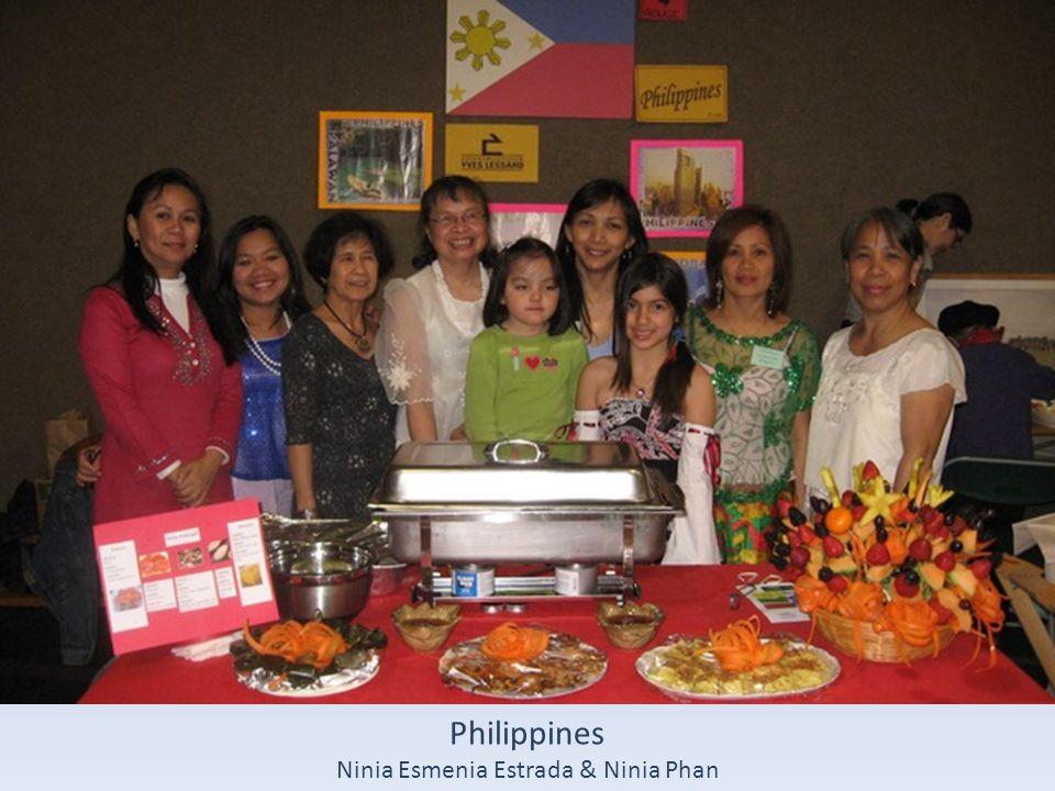 Philippines Ninia Esmenia Estrada & Ninia Phan