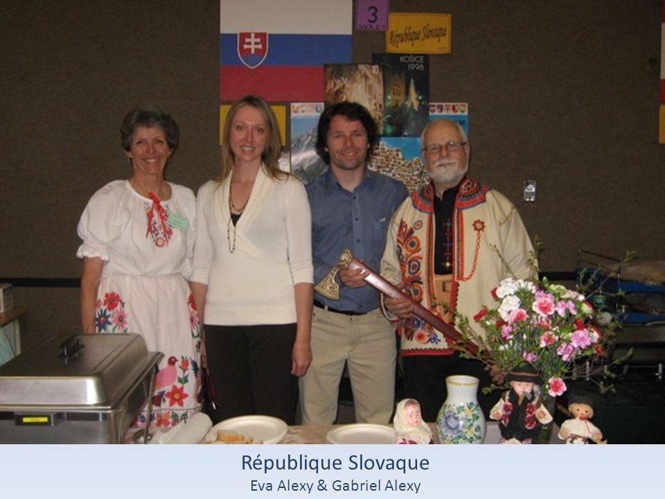 République Slovaque Eva Alexy & Gabriel Alexy