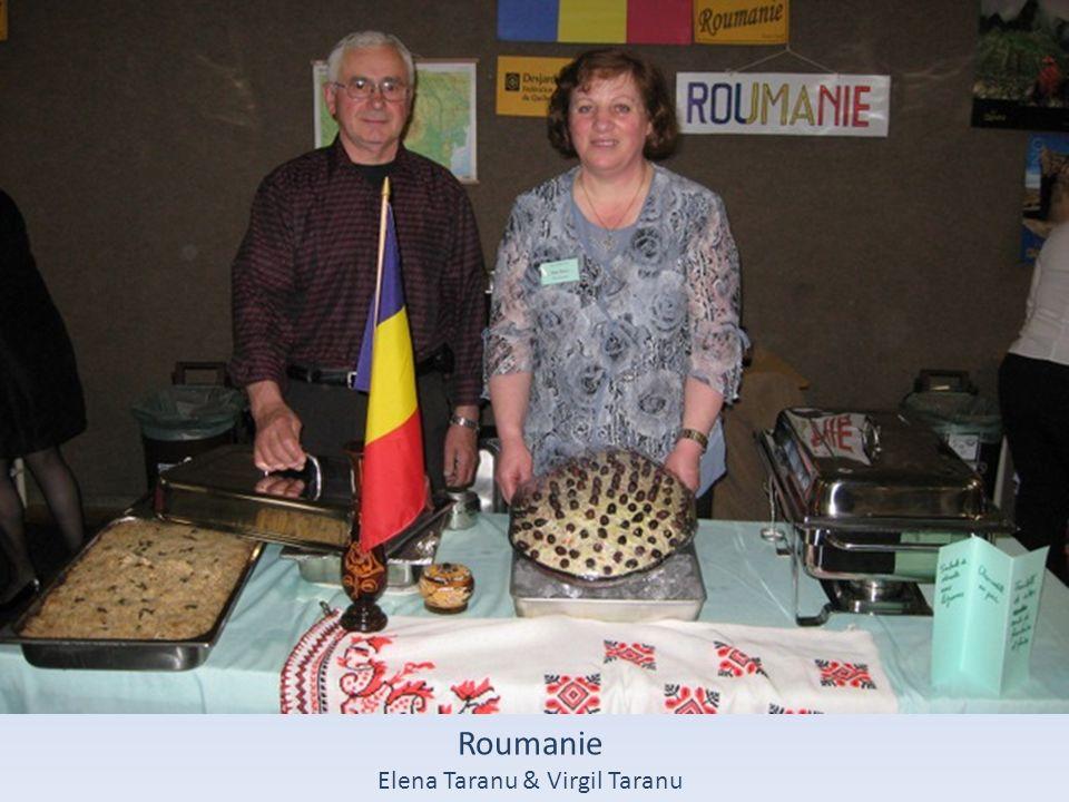 Roumanie Elena Taranu & Virgil Taranu