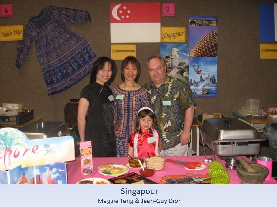 Singapour Maggie Teng & Jean-Guy Dion