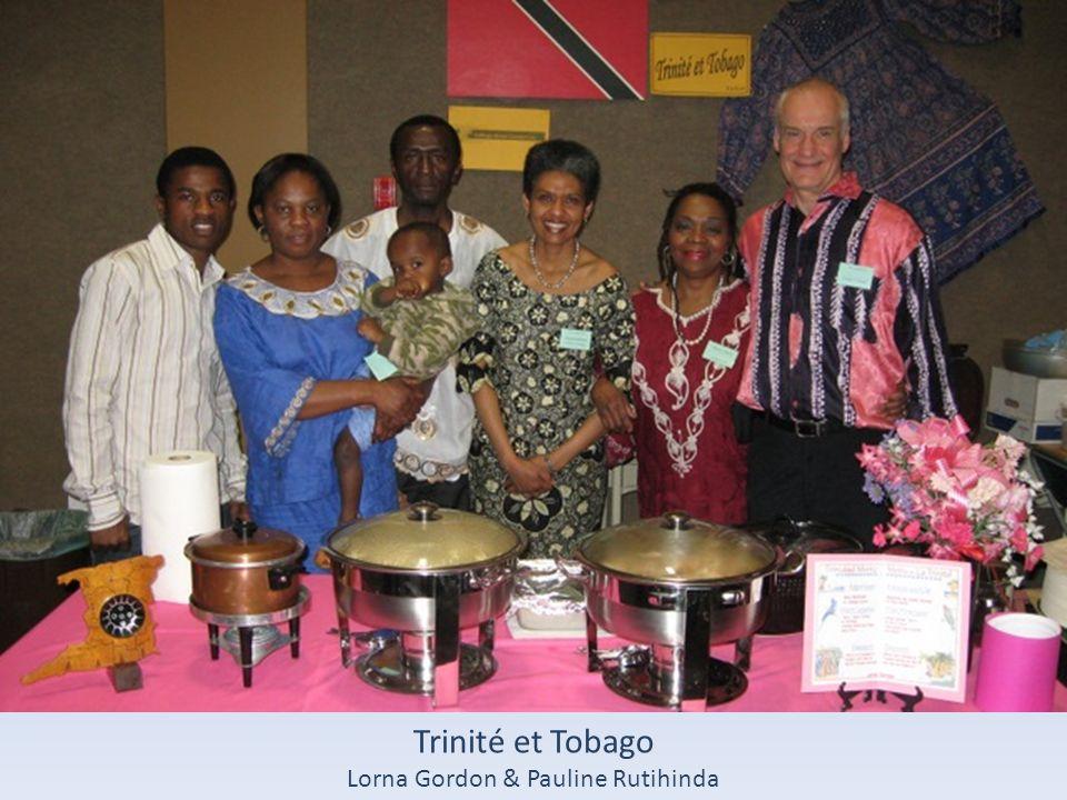 Trinité et Tobago Lorna Gordon & Pauline Rutihinda