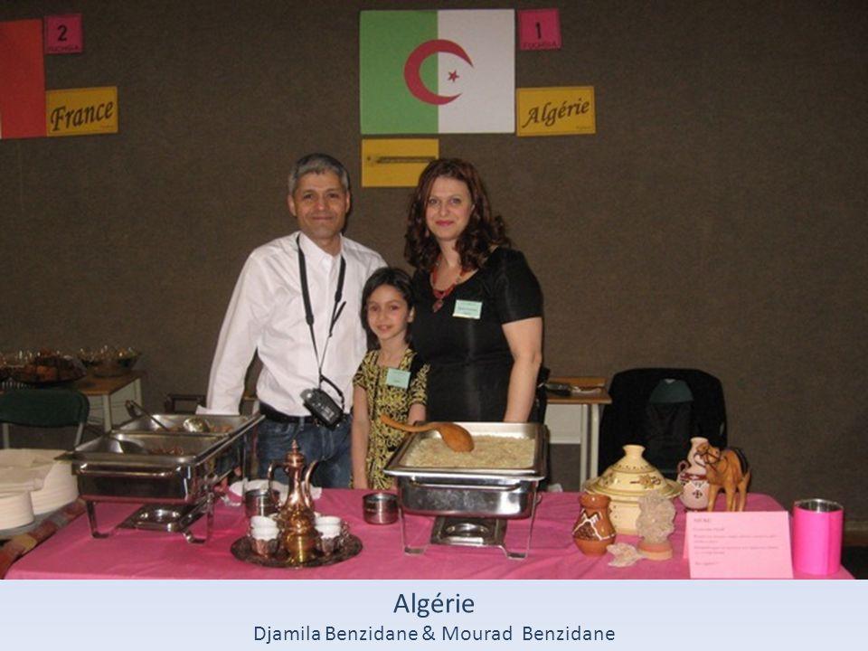 Algérie Djamila Benzidane & Mourad Benzidane