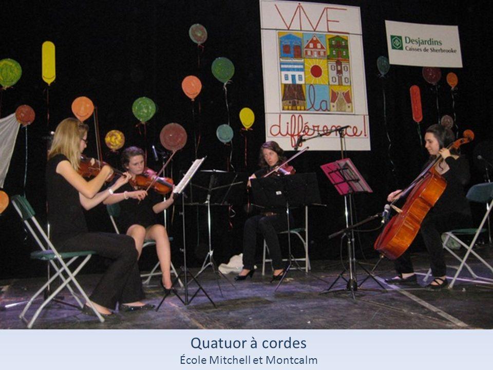 Quatuor à cordes École Mitchell et Montcalm