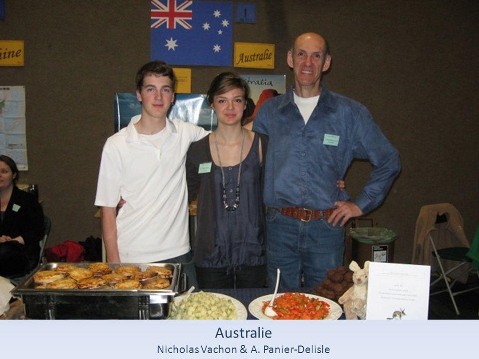 Australie Nicholas Vachon & A. Panier-Delisle