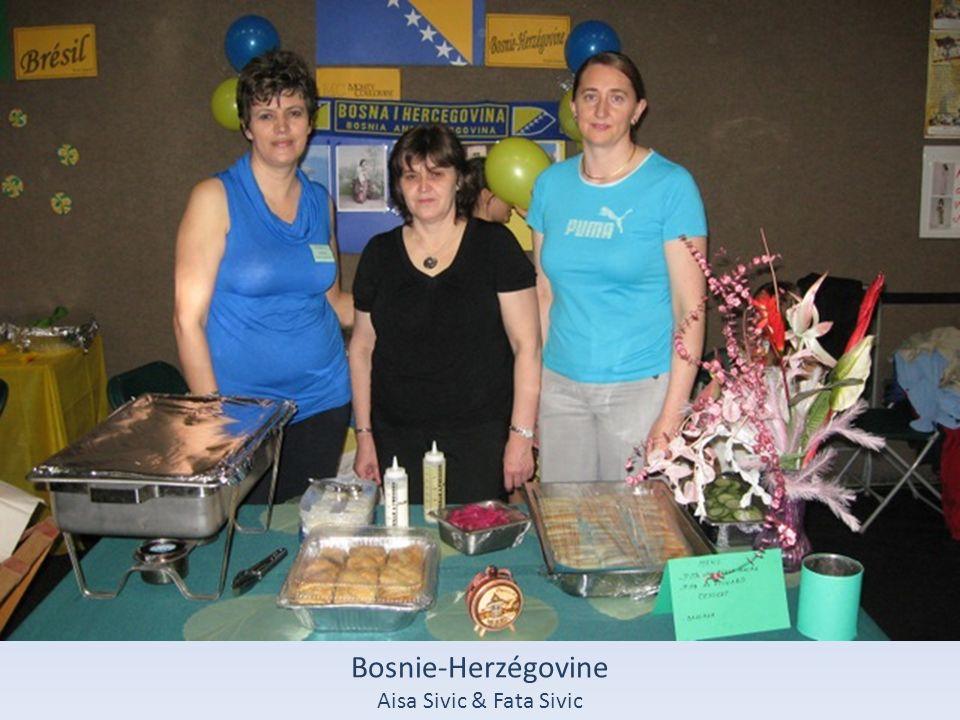 Pologne Monika Stanowska & sa famille
