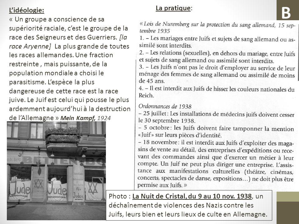 Une idéologie: La pratique : Der Pimpf (=le gosse), n ° d avril 1938, revue pour les garçons de 10 à 14 ans des Jeunesses Hitlériennes.