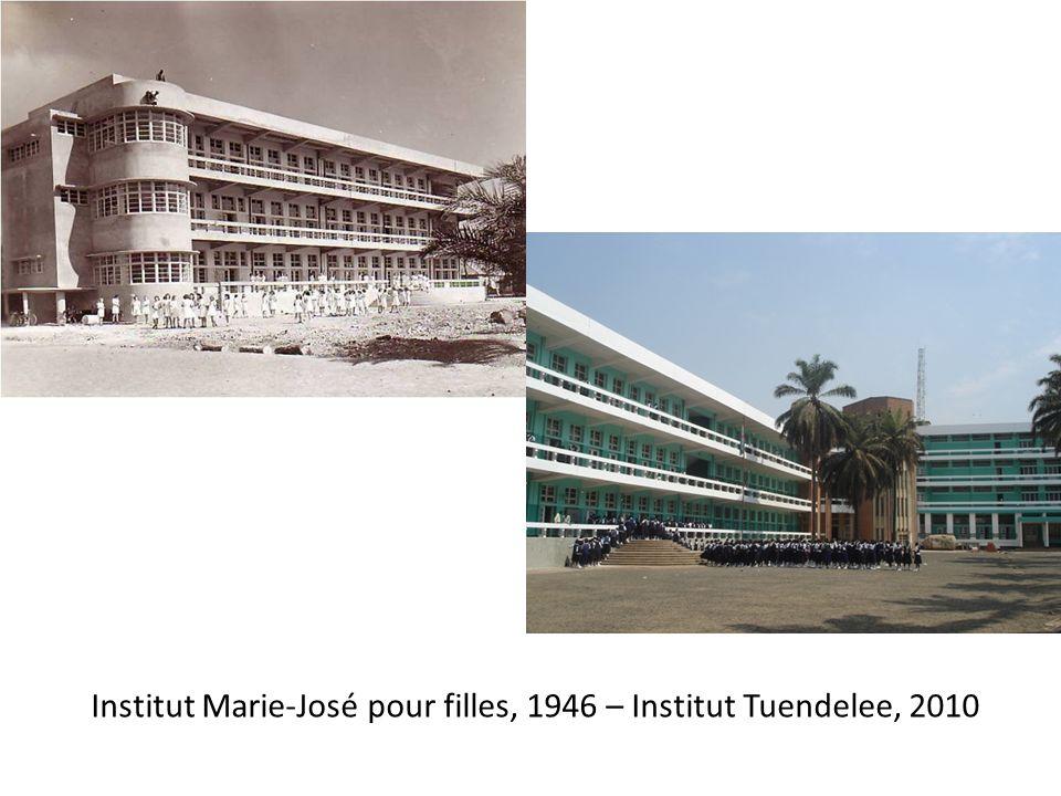 Institut Marie-José pour filles, 1946 – Institut Tuendelee, 2010