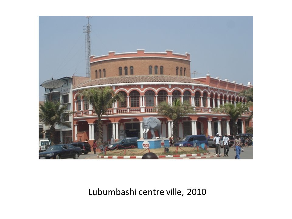 Lubumbashi centre ville, 2010