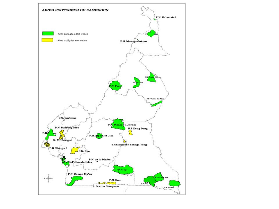 Création - Classement en Réserve de faune et de chasse en 1947 (ancienne zone de chasse du Lamido BOUBA NDJIDDA de Rey- Bouba) - Classement en Parc National en 1968, sur une superficie de 220 000 ha.