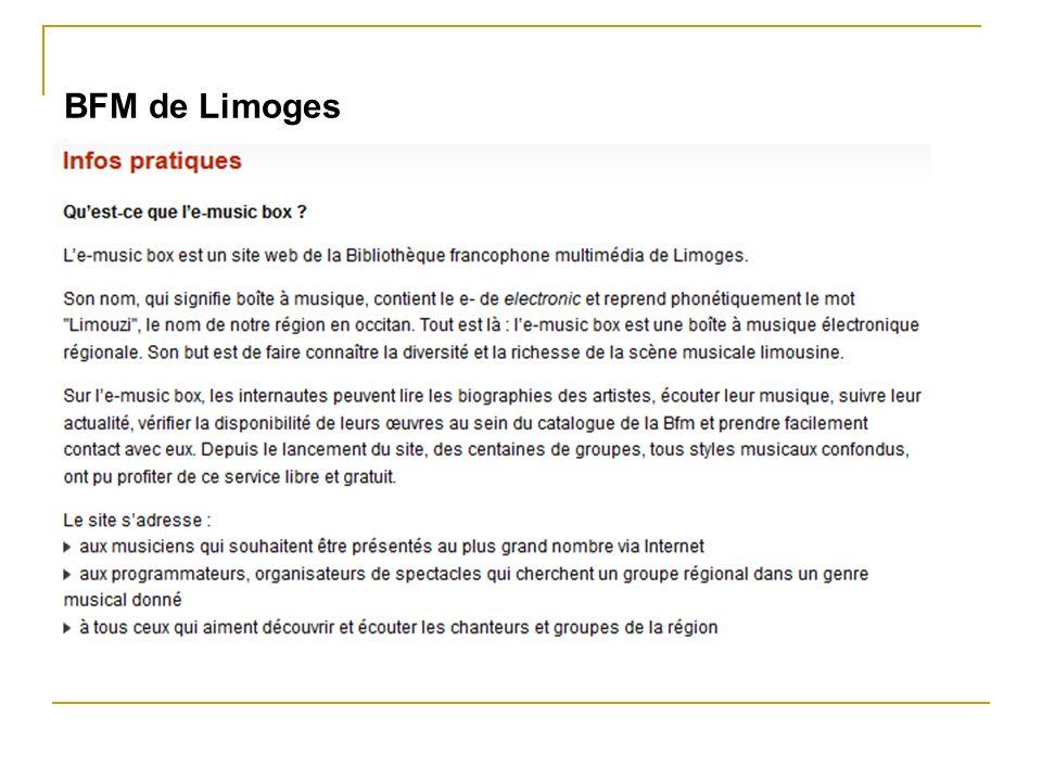 BFM de Limoges