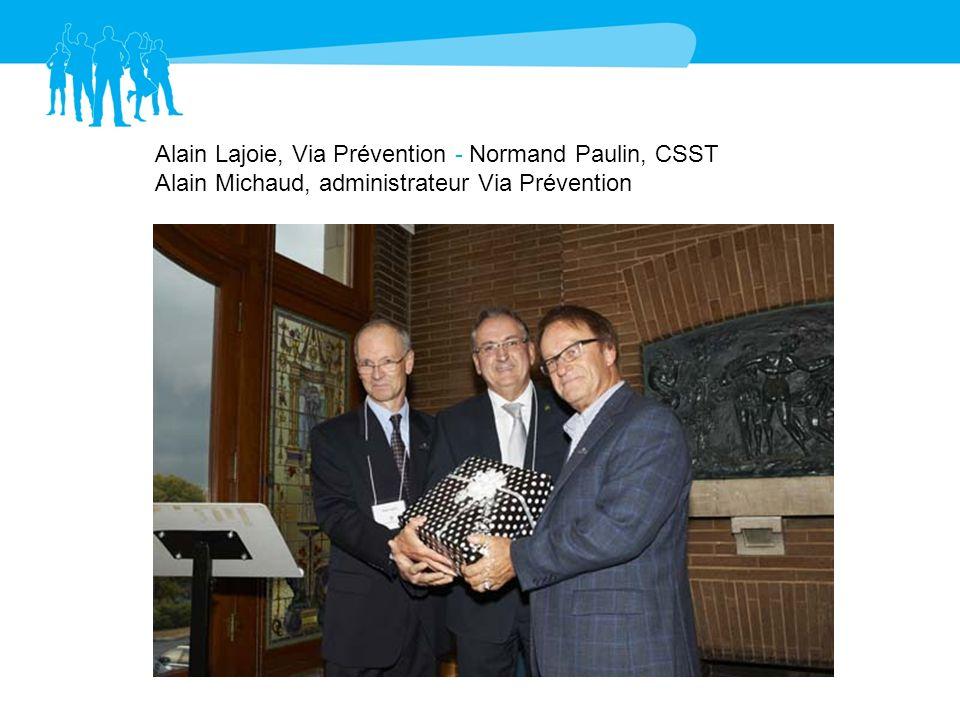 Normand Paulin, CSST – Jean-Yves Héroux, CSST