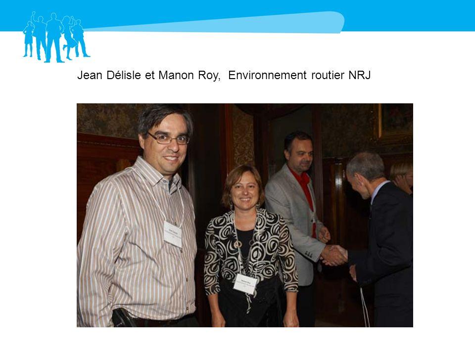 Jean Délisle et Manon Roy, Environnement routier NRJ