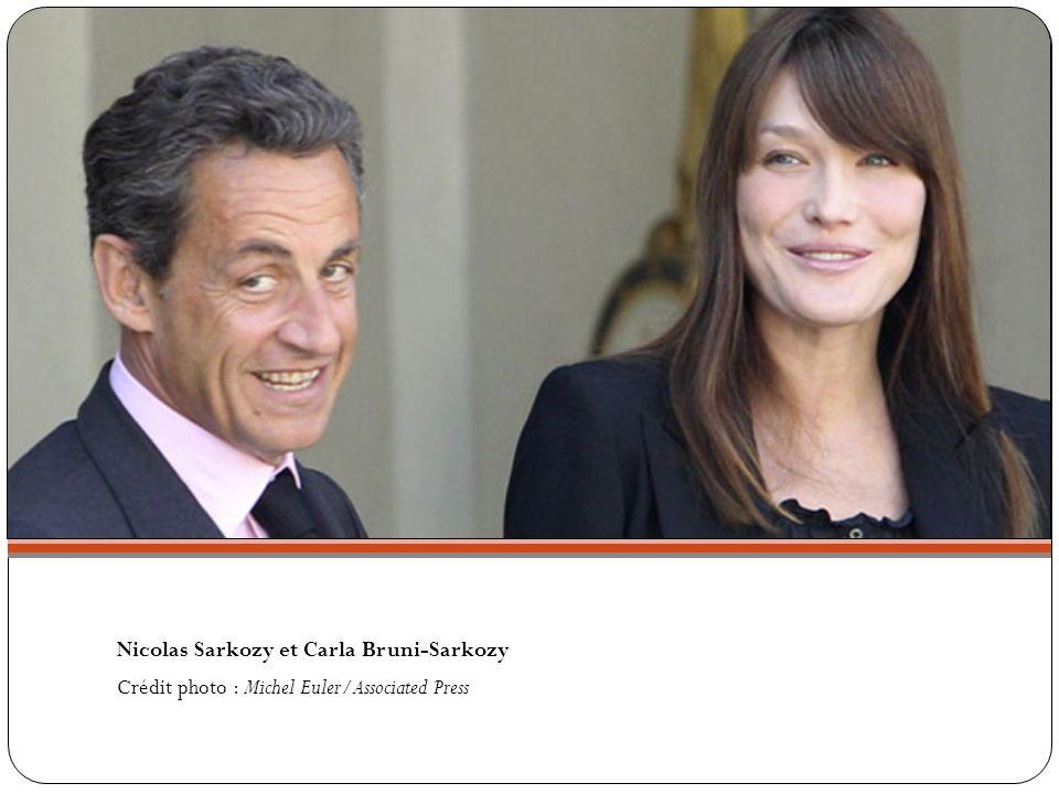 Nicolas Sarkozy et Carla Bruni-Sarkozy Crédit photo : Michel Euler/Associated Press