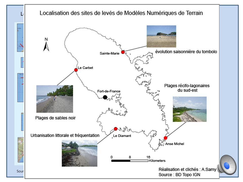 Action 6 : évolution du trait de côte et vulnérabilité du littoral Objectifs de laction : Observer limpact des évènements paroxysmiques sur les plages
