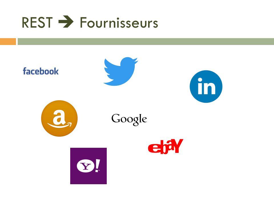 REST Fournisseurs