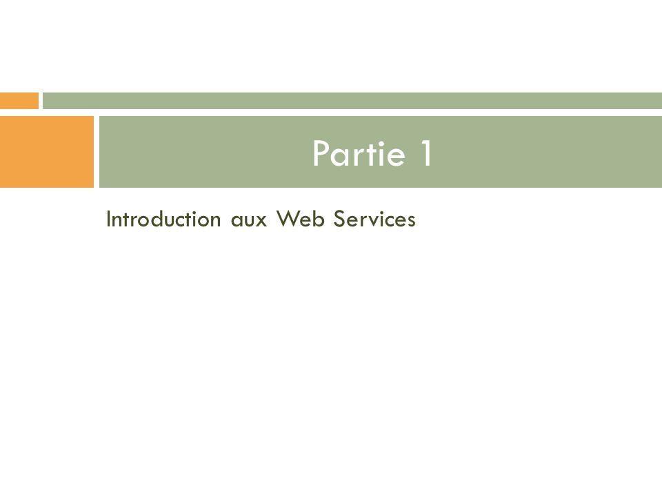 Méthode PUT Mise à jour de la ressource sur le système ClientServeur PUT: http://ntdp.miage.fr/bookstore/books/1 Statut : 200 Message : OK En-tête : …..