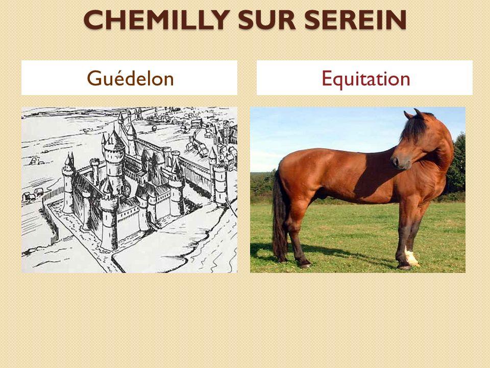 CHEMILLY SUR SEREIN GuédelonEquitation