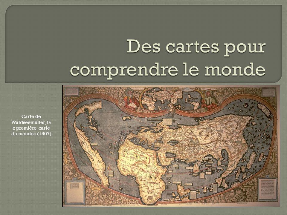 Carte de Waldseemüller, la « première carte du monde» (1507)