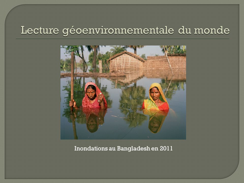 Inondations au Bangladesh en 2011