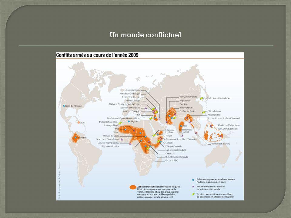 Un monde conflictuel