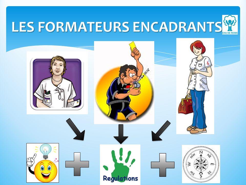 LES FORMATEURS ENCADRANTS