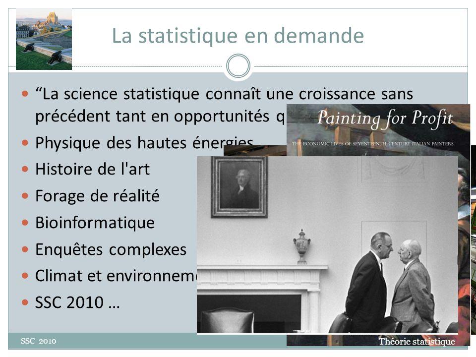 Pensée Statistique SSC 2010 Pleins des ressources Theory of statistics