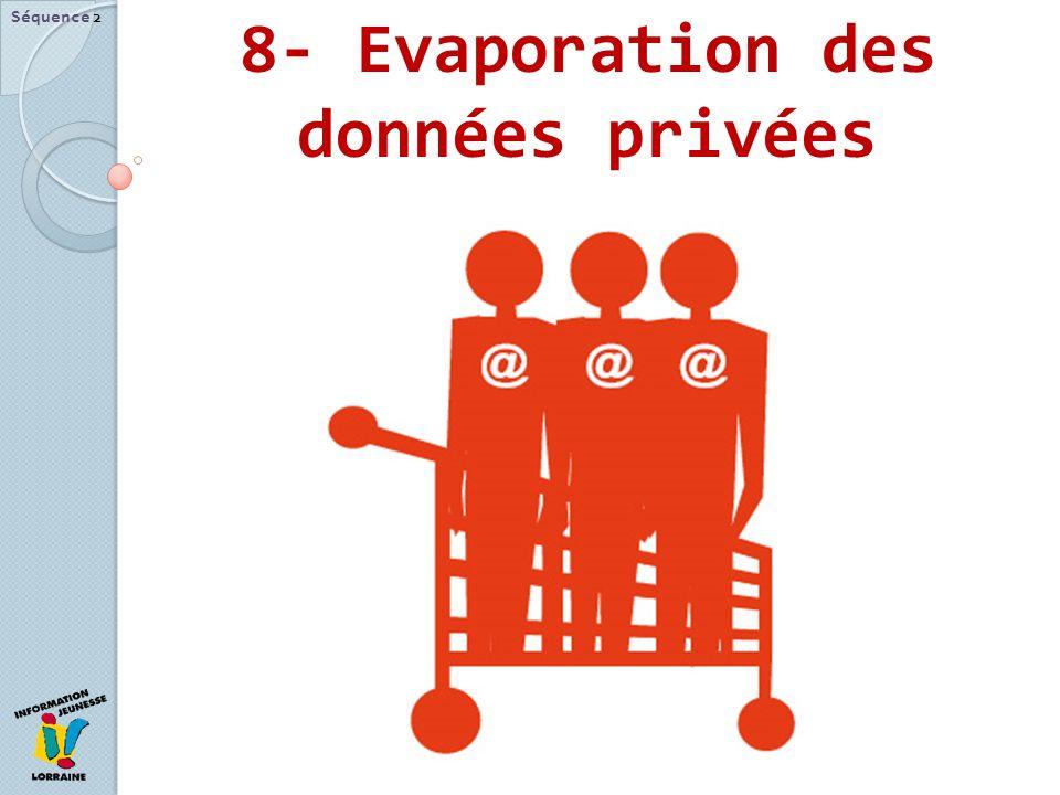 8- Evaporation des données privées Séquence 2