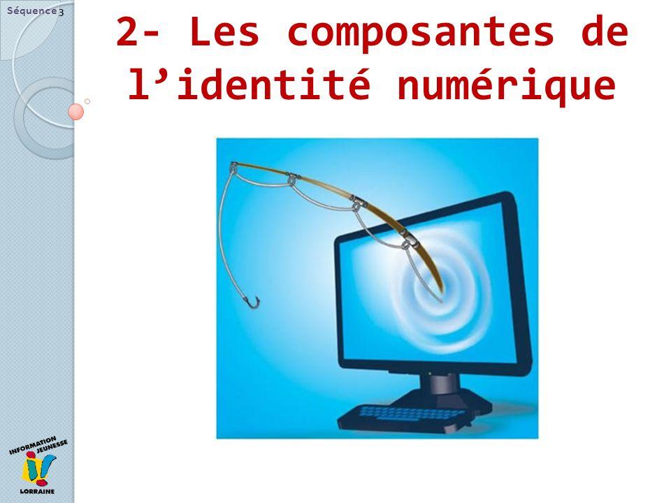 2- Les composantes de lidentité numérique Séquence 3