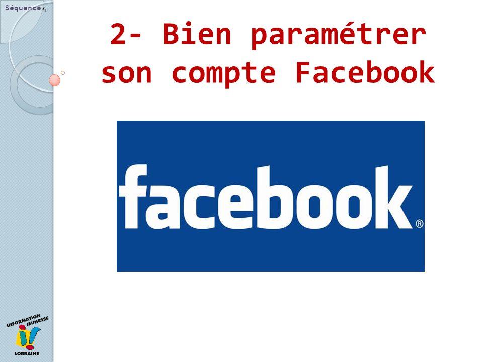 2- Bien paramétrer son compte Facebook Séquence 4