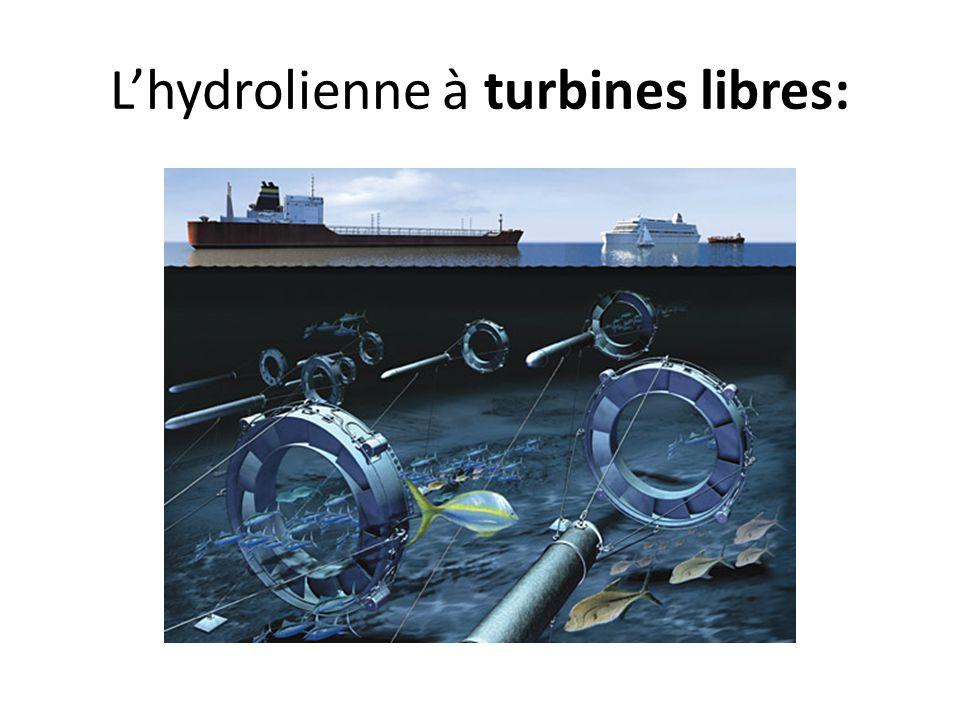 Lhydrolienne à turbines libres: