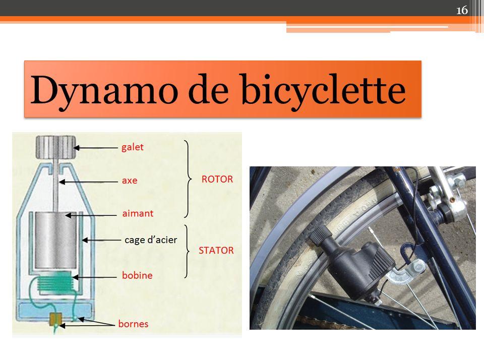 Dynamo de bicyclette 16