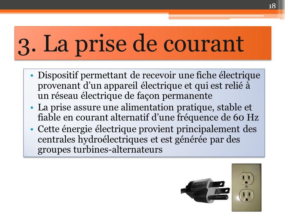 Dispositif permettant de recevoir une fiche électrique provenant dun appareil électrique et qui est relié à un réseau électrique de façon permanente L