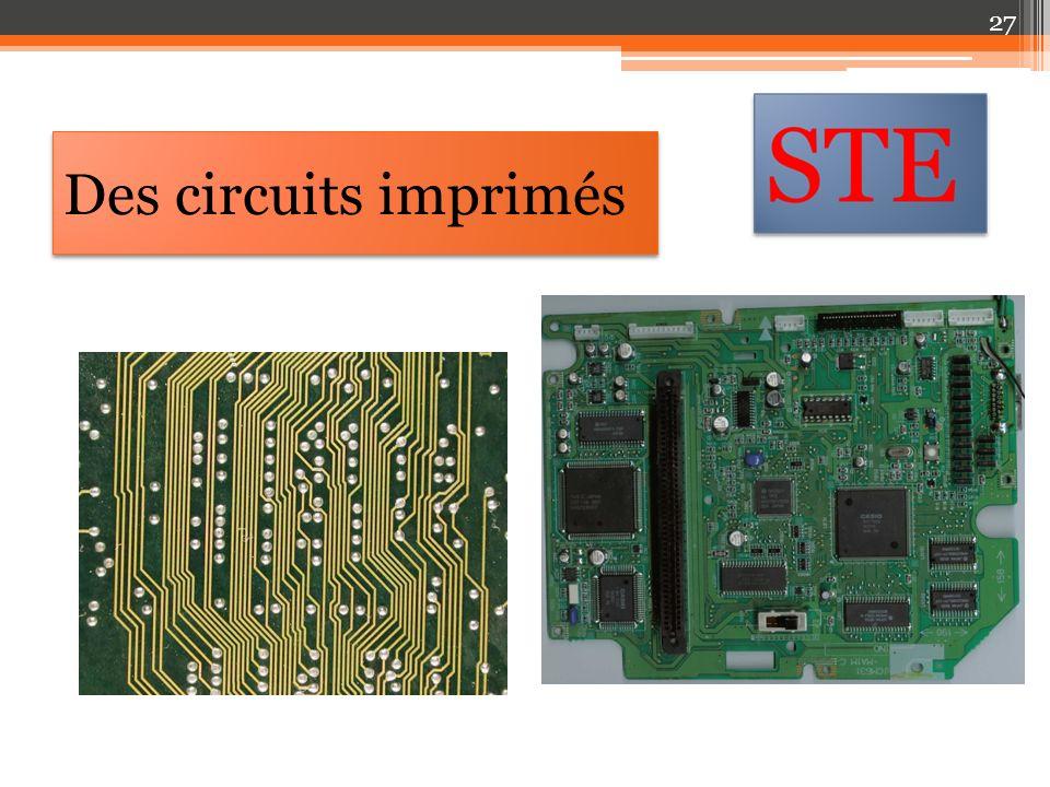 Des circuits imprimés 27