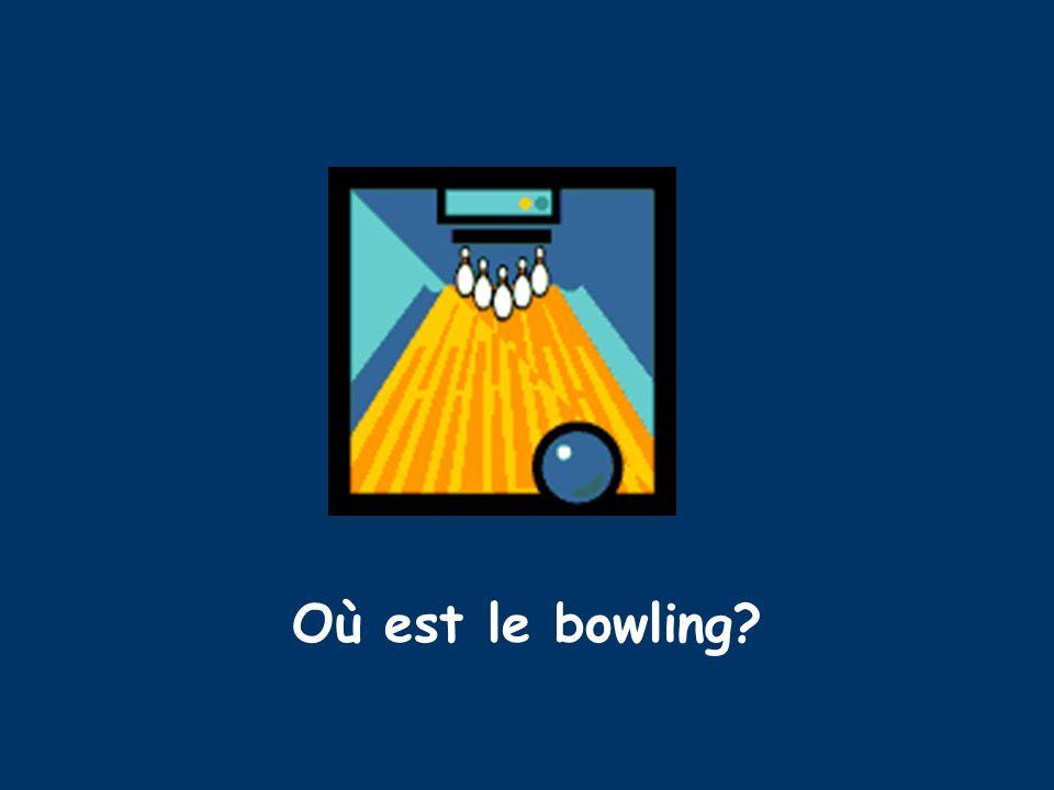 Où est le bowling?