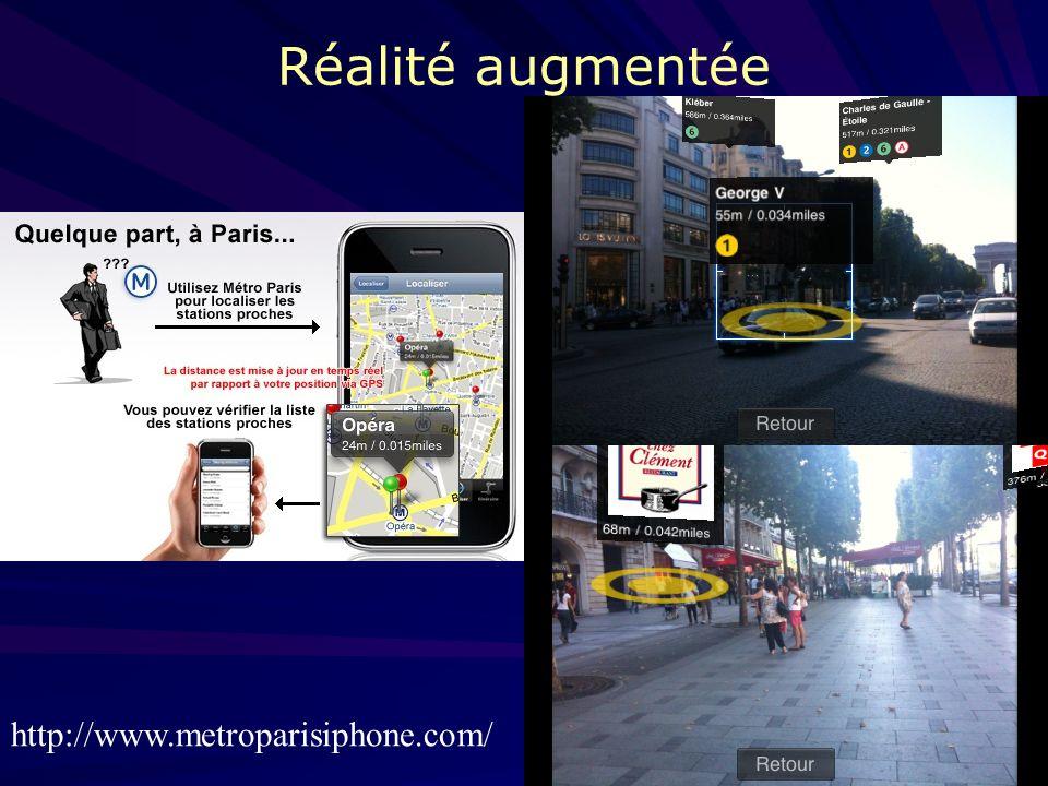 15 Applications nomades Développement de « location based services », sappuyant: 1. sur les technologies mobiles de communication 2. sur les technolog