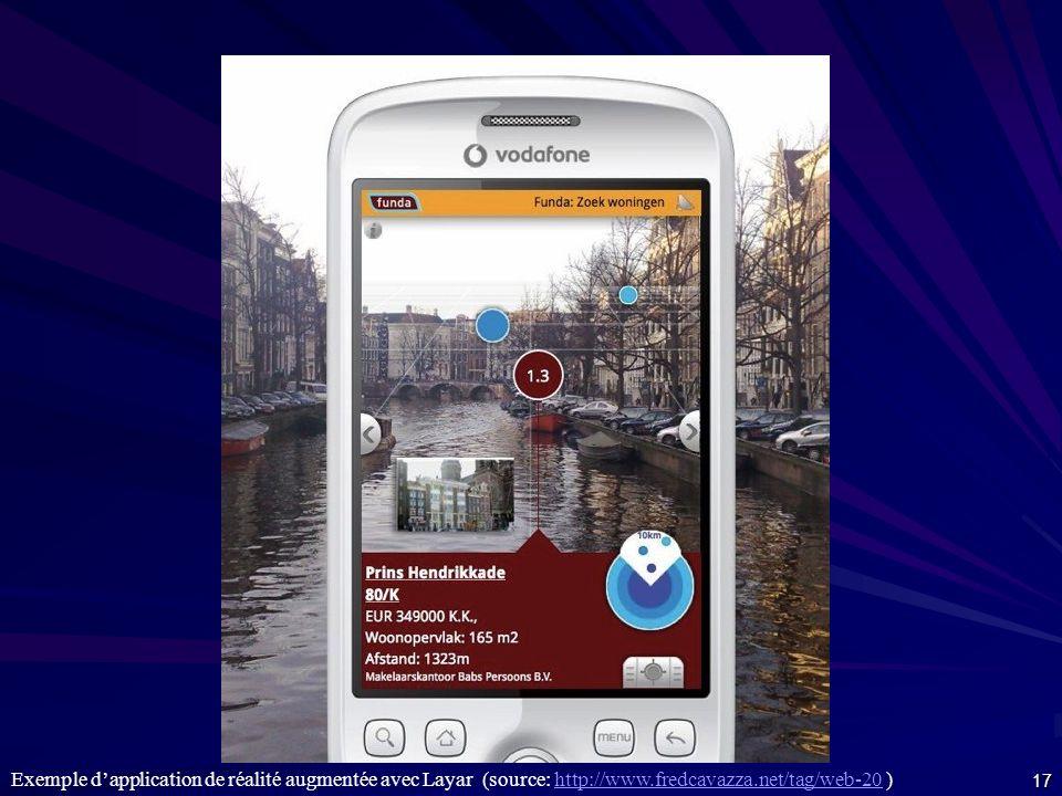 Réalité augmentée http://www.metroparisiphone.com/