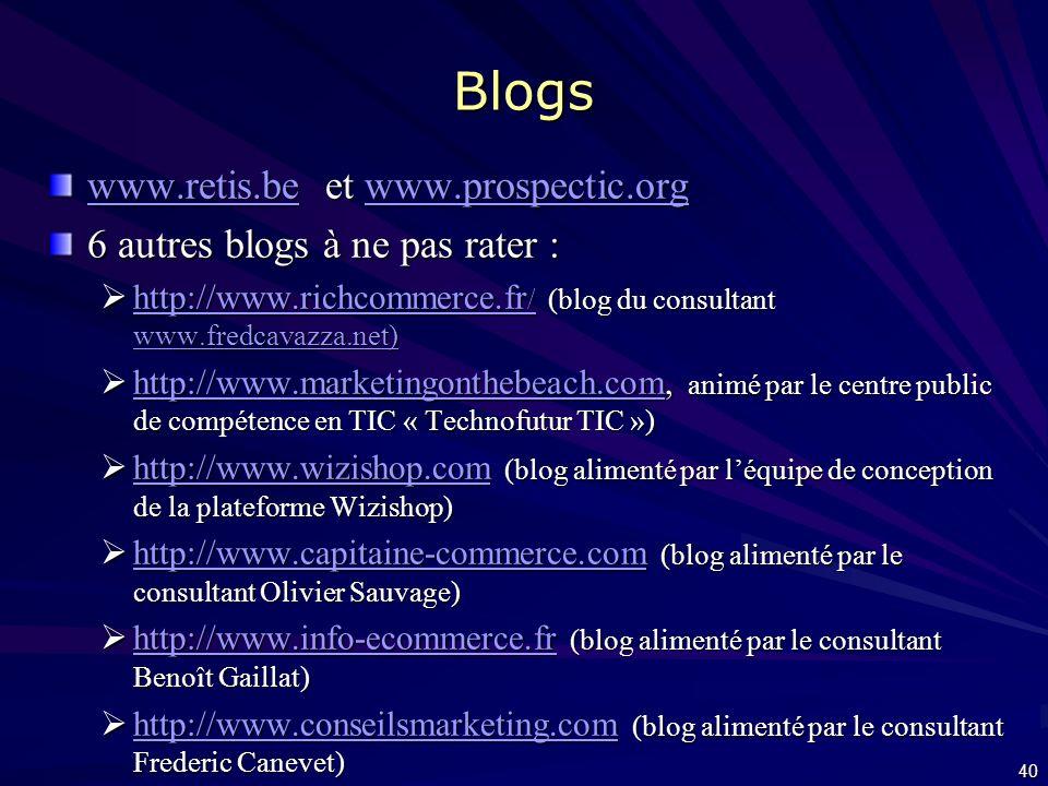 Ressources web www.awt.be/web/ebu Articles, témoignages, etc. Articles, témoignages, etc. Dossiers (paiement en ligne, choix dun fournisseur, solution