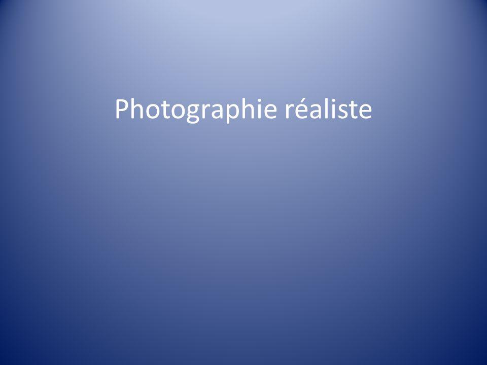 Photographie réaliste