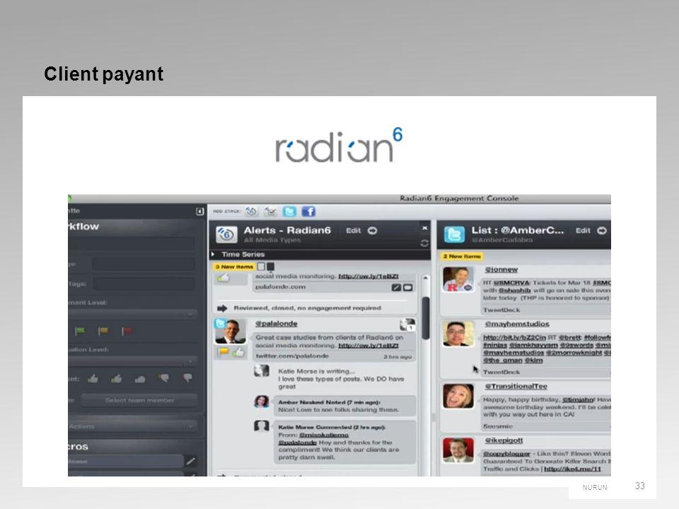 NURUN Client payant 33