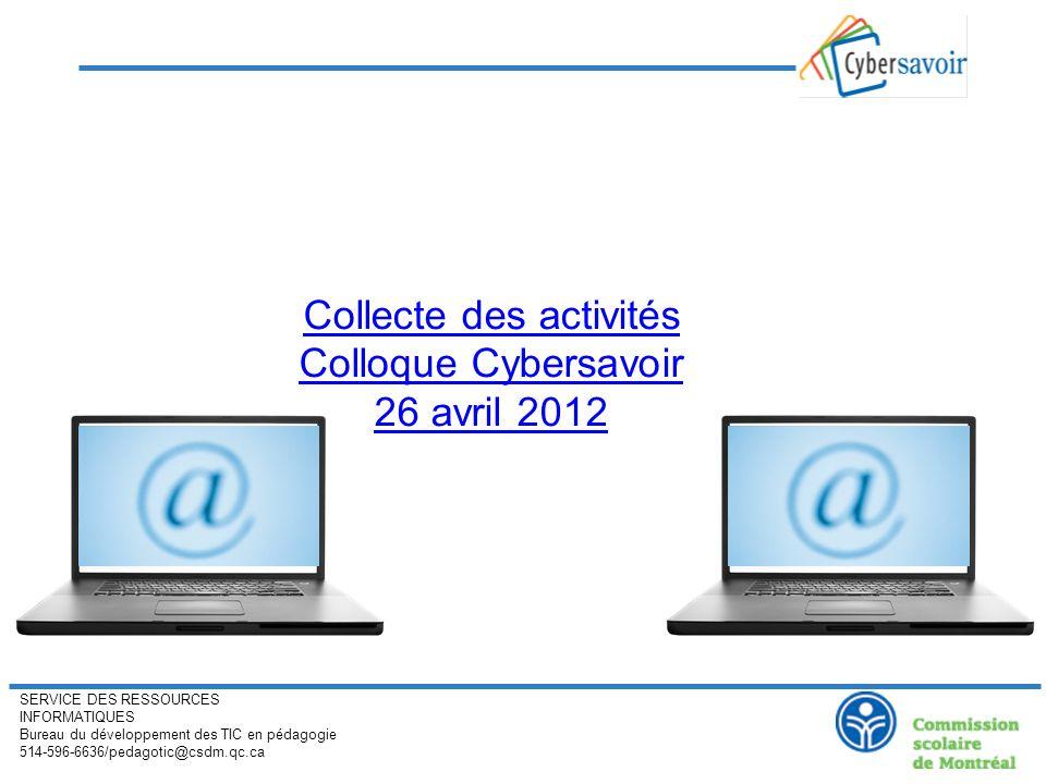 SERVICE DES RESSOURCES INFORMATIQUES Bureau du développement des TIC en pédagogie 514-596-6636/pedagotic@csdm.qc.ca Guide à télécharger: