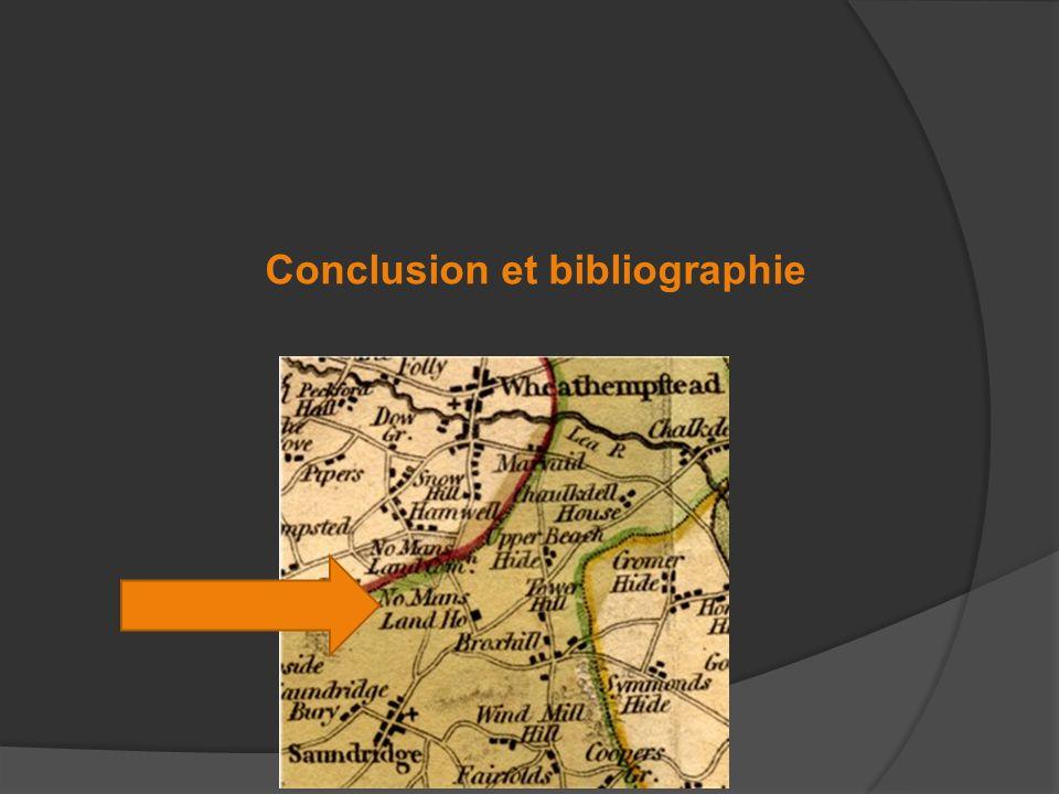 Conclusion et bibliographie