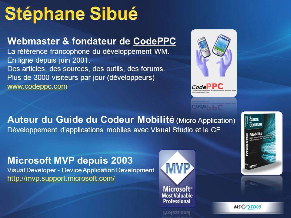 Webmaster & fondateur de CodePPC La référence francophone du développement WM. En ligne depuis juin 2001. Des articles, des sources, des outils, des f