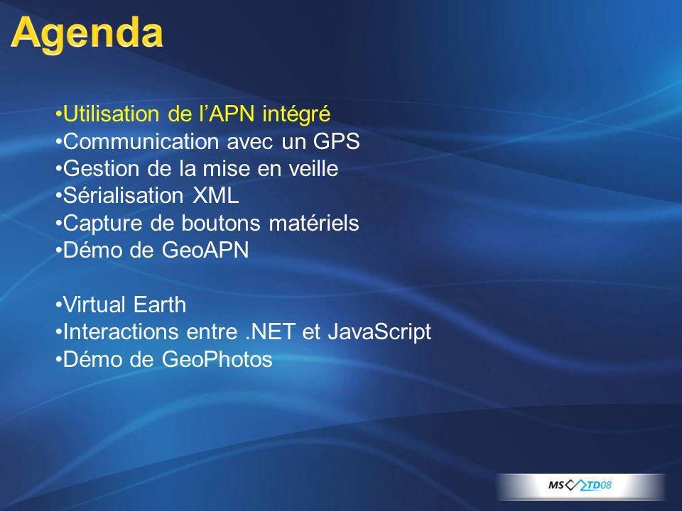 La liaison entre une WinForm et le script se fait grâce au contrôle WebBrowser hébergeant le script.